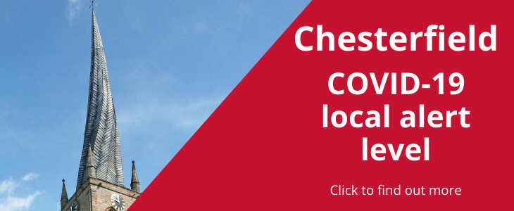 Chesterfield COVID-19 local area level - click to find out more