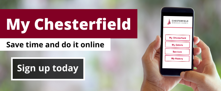 Chesterfield residents encouraged to manage council services online
