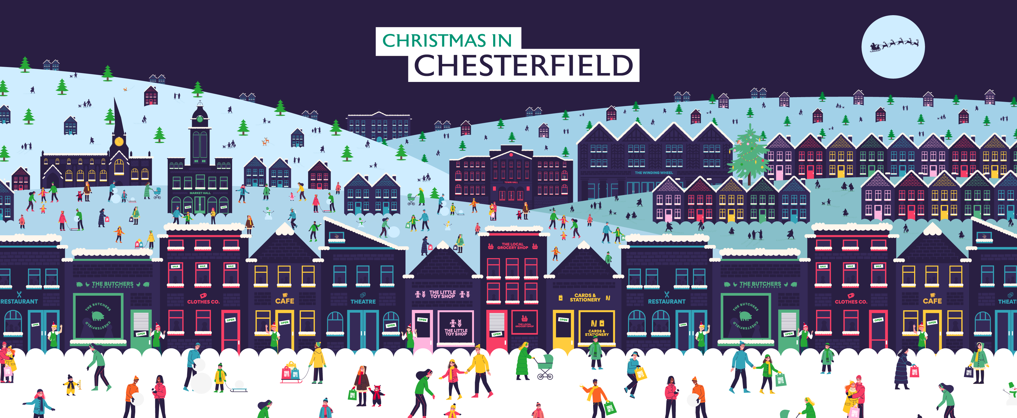 Christmas in Chesterfield - What's on