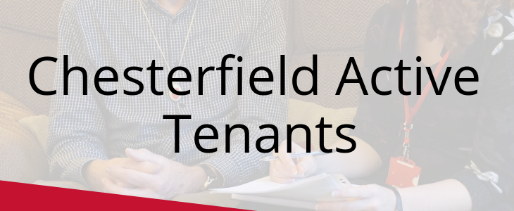 Chesterfield Active Tenants: Get involved