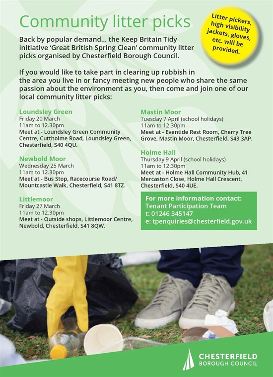 Community Litter Picks March April 2020 Page New