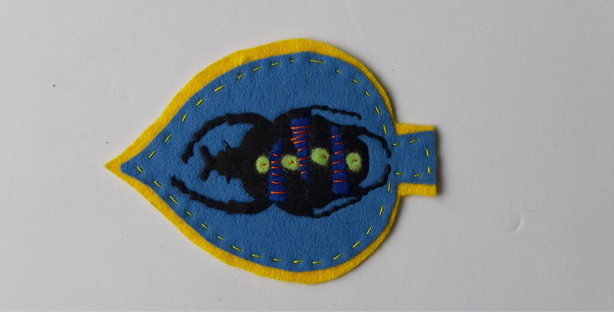 Embroidered Beetle Workshops (1) - CANCELLED