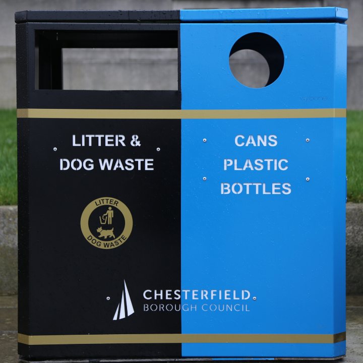 New on-street bins to allow recycling on the go