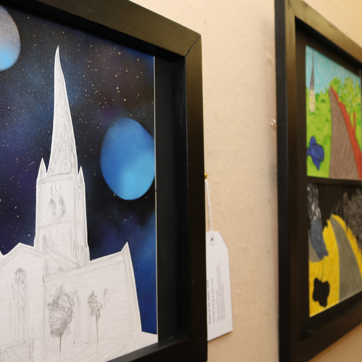 Chesterfield Museum showcases young artist's work