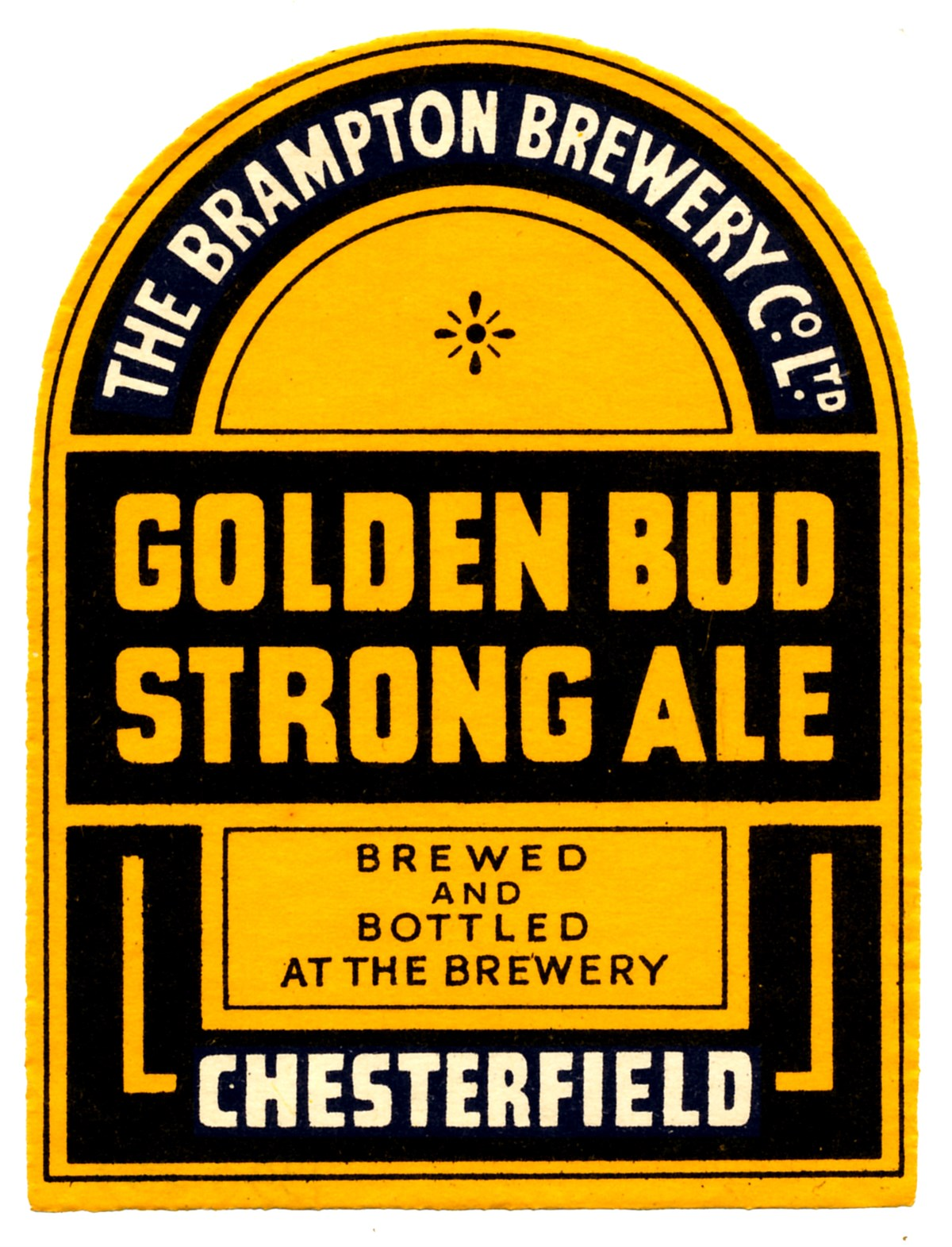 Golden Bud Label