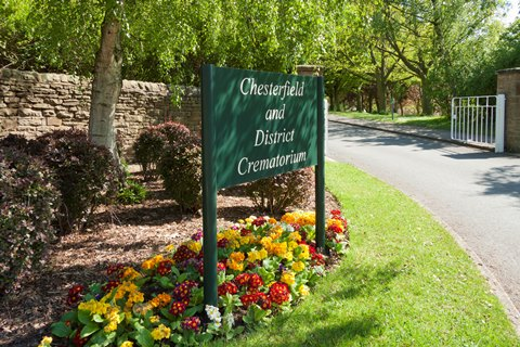 New reception and offices unveiled at crematorium