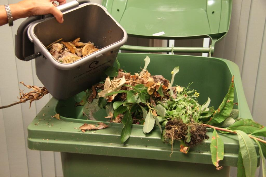 Please don't overfill your green bin