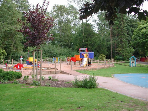 Queen's Park play area