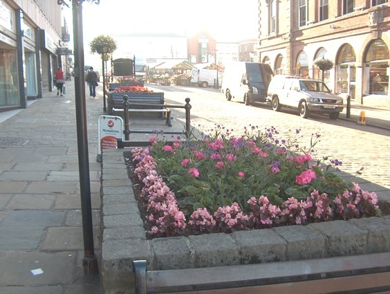 Town Flower Bed