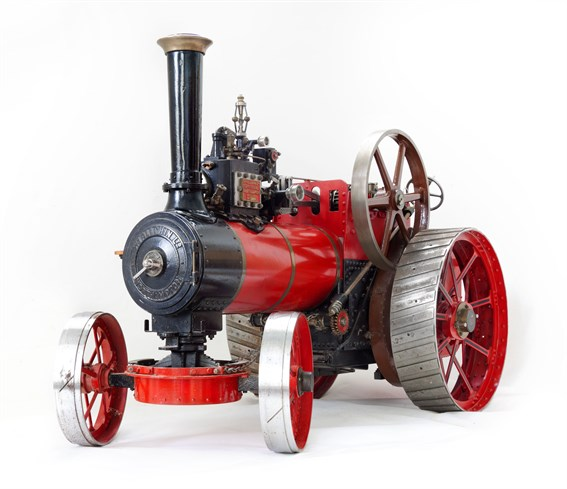 model of an Allchin Traction Engine