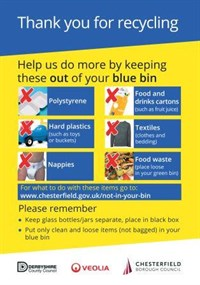 What not to put in your blue bin
