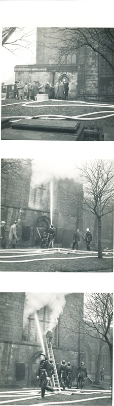 Spire Fire 1961 Cropped