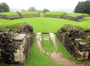 Amphitheatre At Caerleon