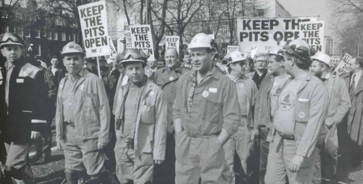 Miners March