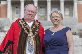 Mayor and mayoress (3)