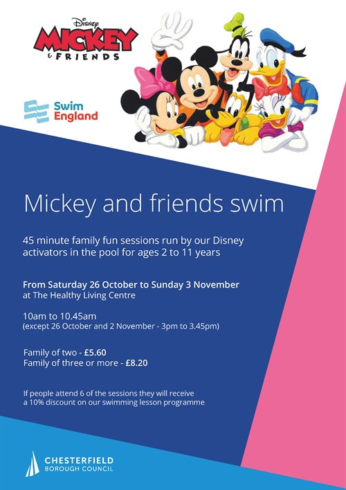 Disney Swim at Healthy Living Centre